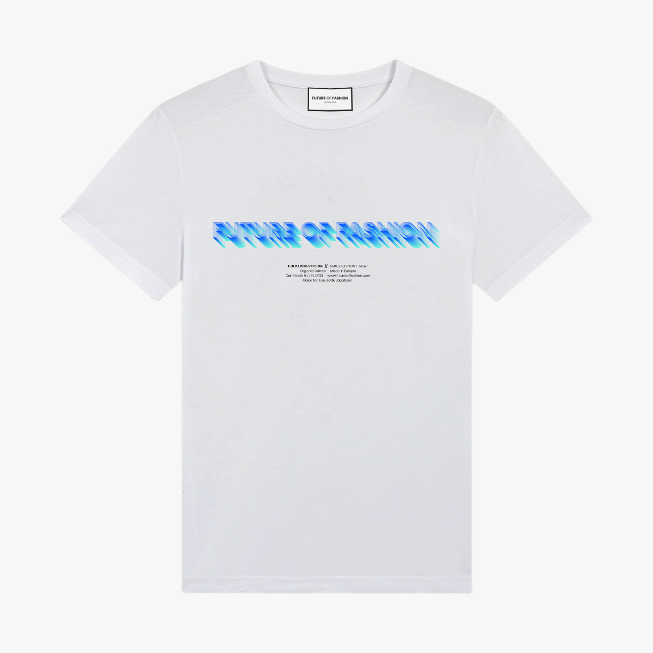 Holo Logo Custom T-Shirt 2